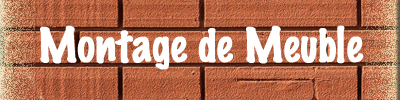 Logo Montage de meuble page accueil