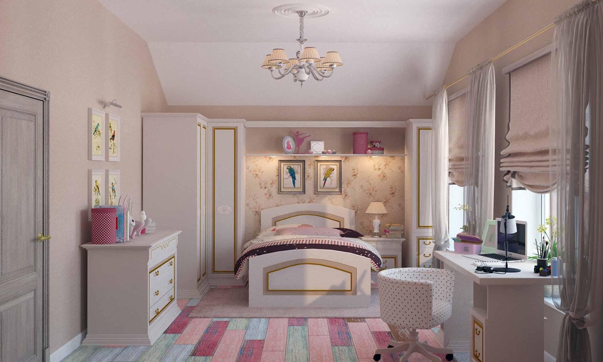 montage de meuble photo chambre enfant