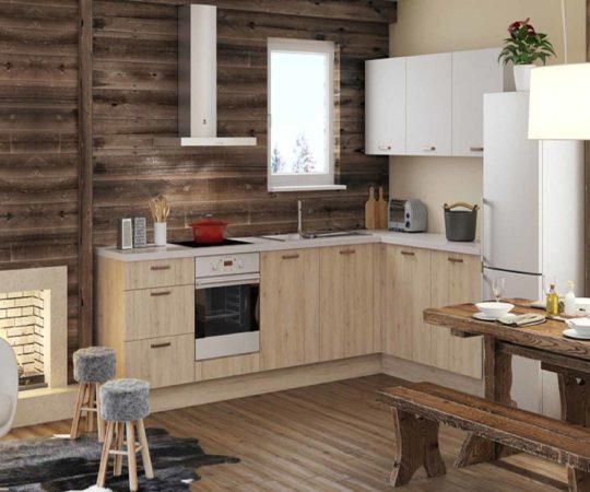 montage de meuble cuisine nordique