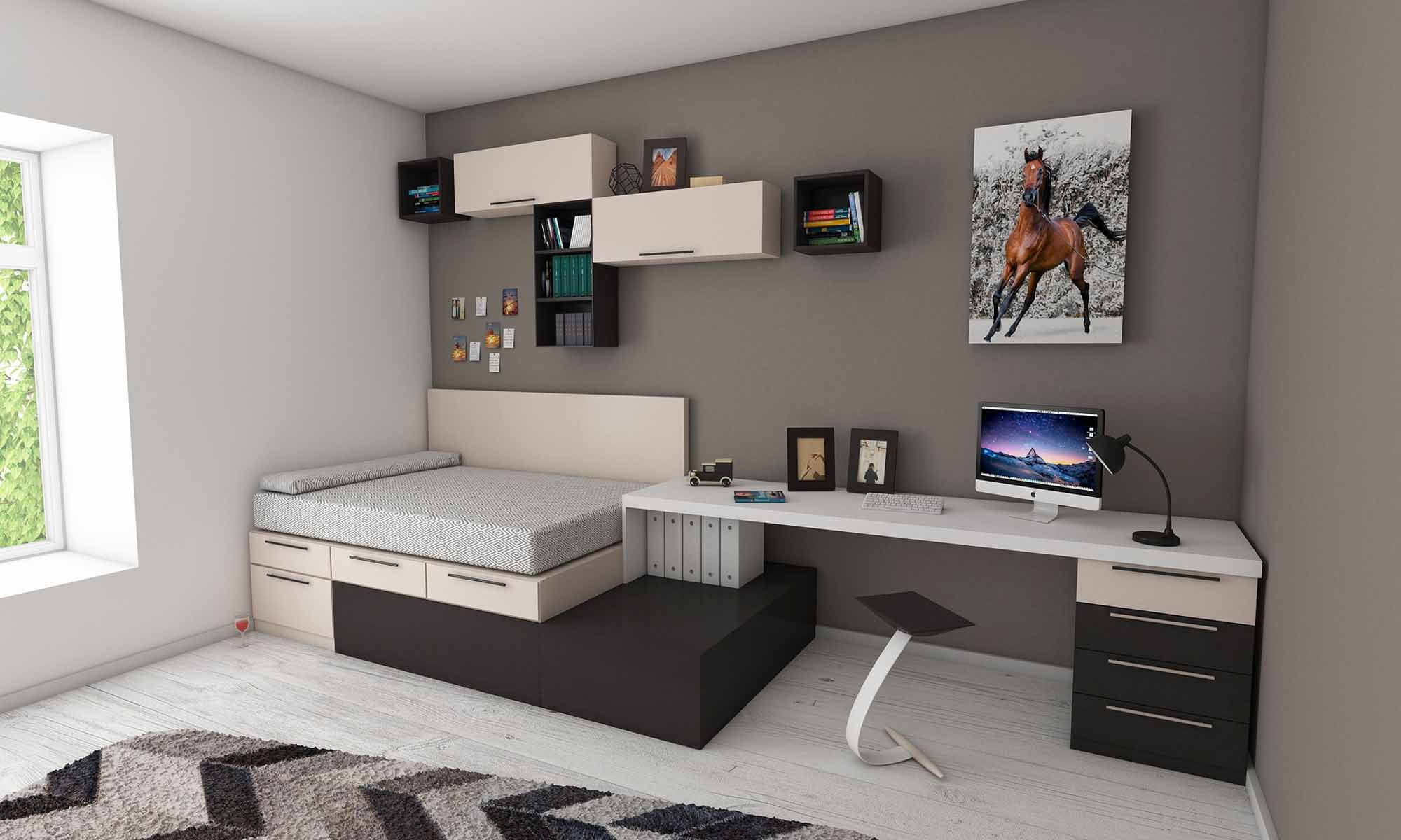 montage de meuble chambre ado