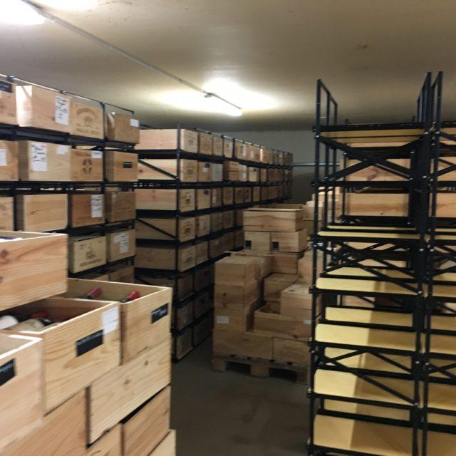Montage modulorack caves à vin 2