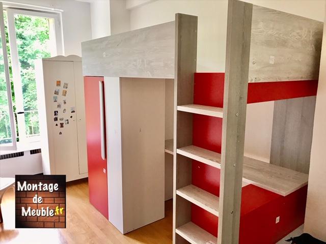 lit mezzanine montage de meuble