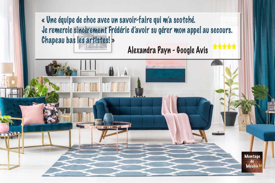 montage de meuble photo salon AVIS 2021